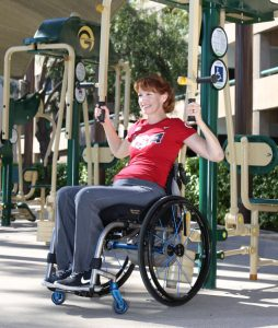 Jennifer French at Anaheim Senior Center